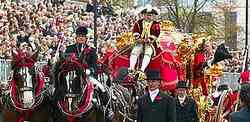 LONDON'S LORD MAYORS SHOW
