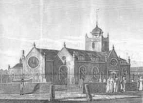 Original Church of St Paul's in the Highway Shadwell UK